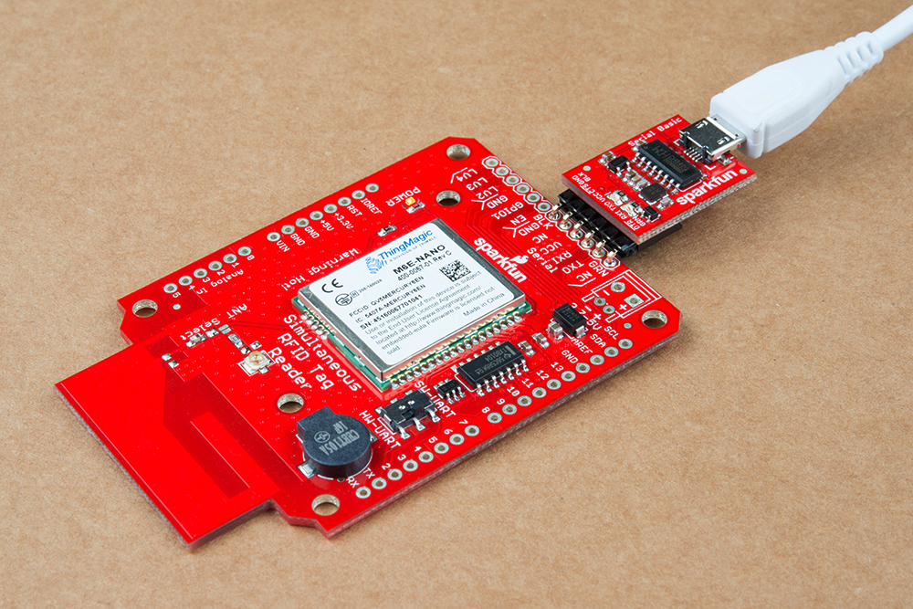 Simultaneous RFID Tag Reader Hookup Guide - learn sparkfun com