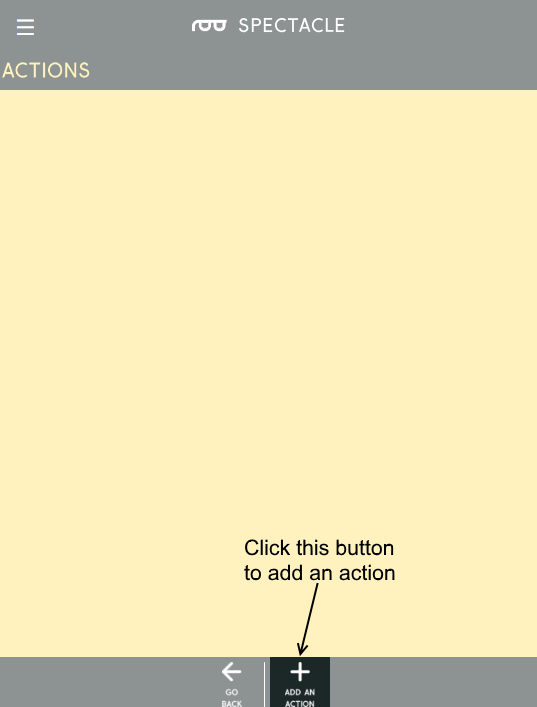 Add an action button