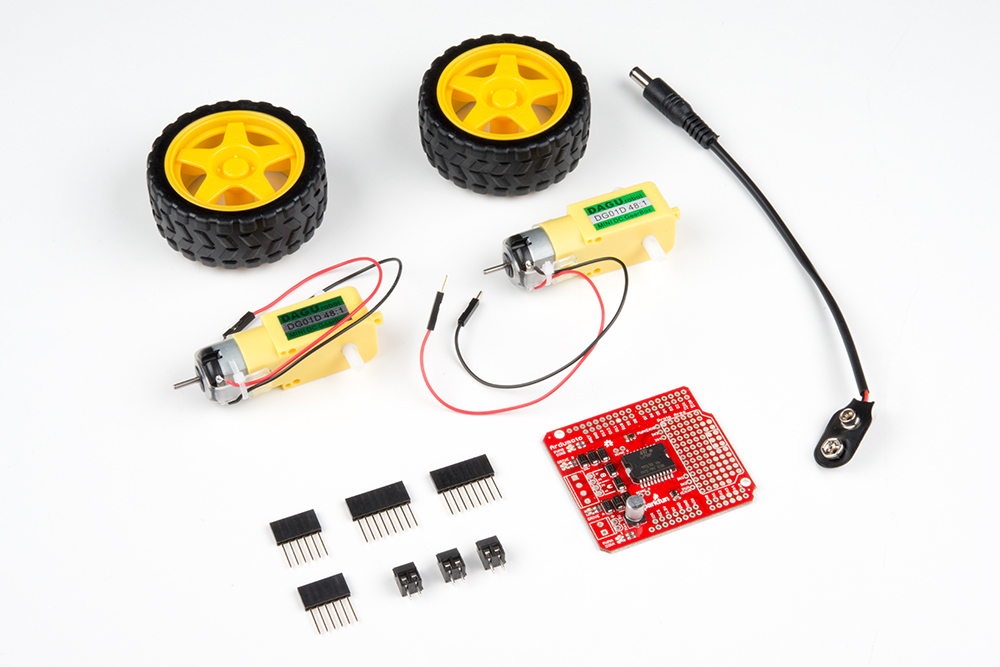 Ardumoto Kit Hookup Guide - learn sparkfun com