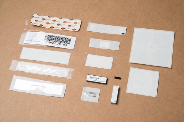 Pile of passive RFID tags