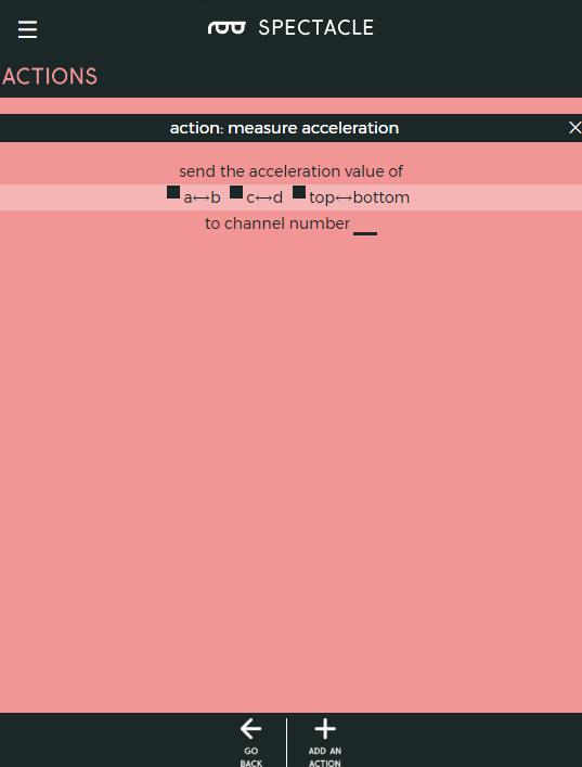 Measure acceleration options