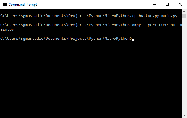 MicroPython Programming Tutorial: Getting Started with the