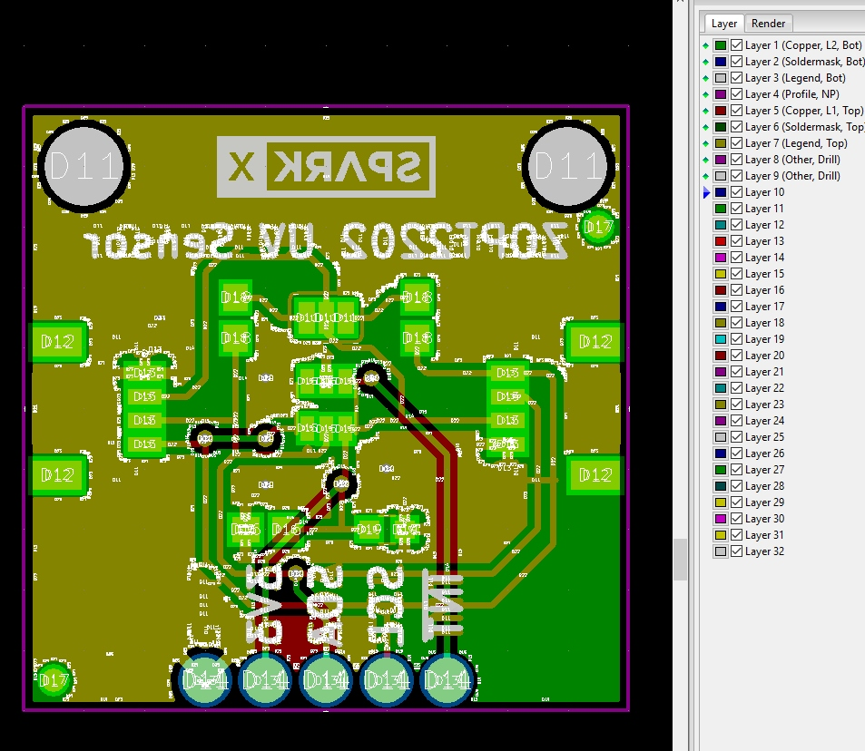 Beginners Guide To Kicad Gerber Files For Your Printed Circuit Board Design Online So Simple The Layout Looks Very Different But This Is A Good Thing Youve Been Staring At Hours And Its Hard Brain See Issues