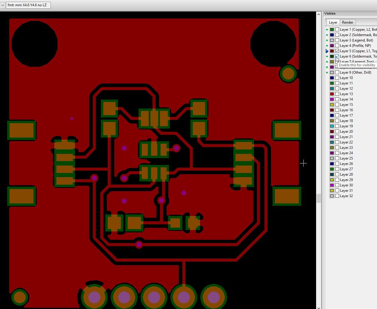Beginners Guide To Kicad Gerber Files For Your Printed Circuit Board Design Online So Simple Turn On And Off Layers