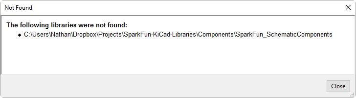 Library Error