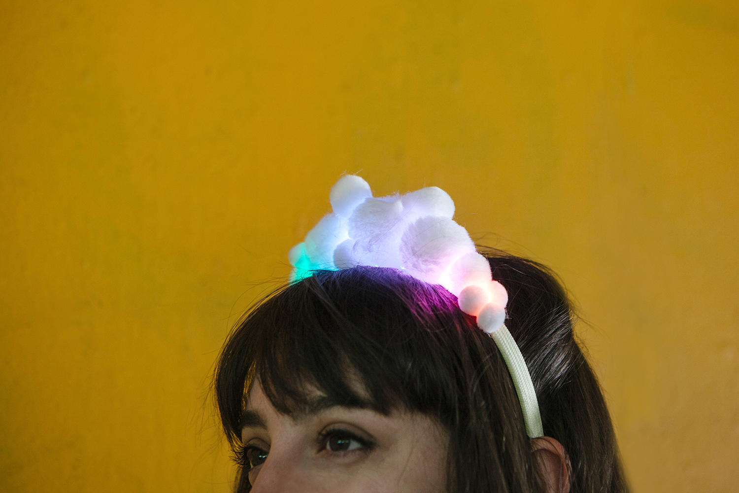 Led Pompom Headbands The Diode Or Short Lead For A As Shown In Circuit Alt Text