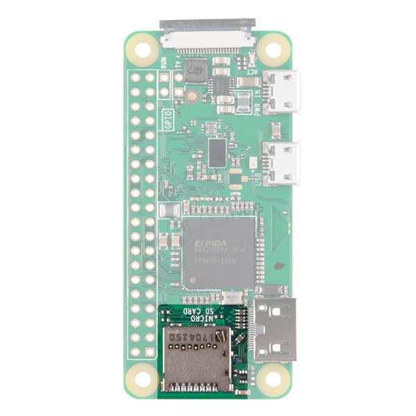 pi zero microSD card slot