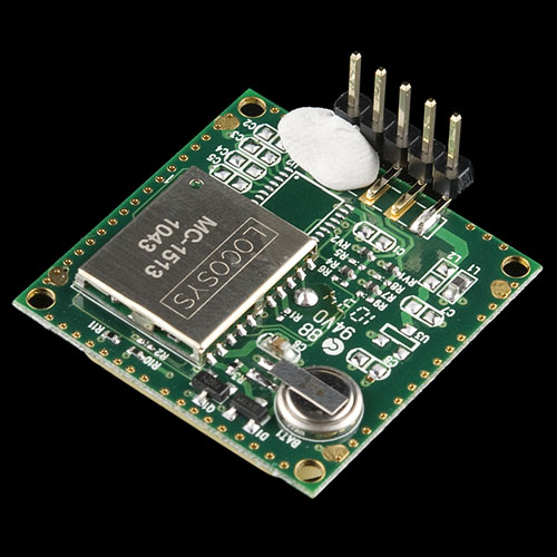 Soldered Pin on LS20031 GPS Receiver