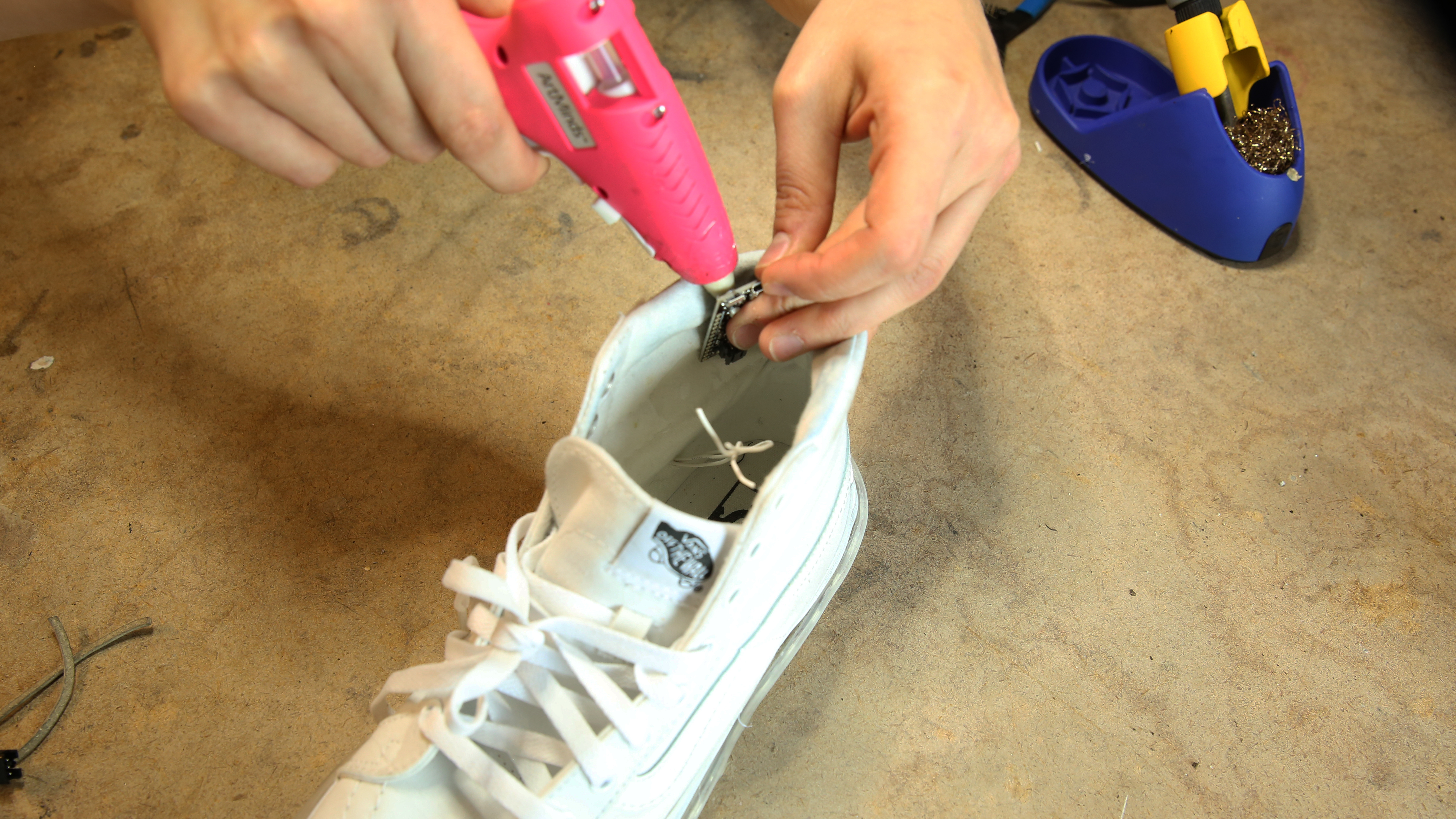 diy light-up shoes - learn.sparkfun