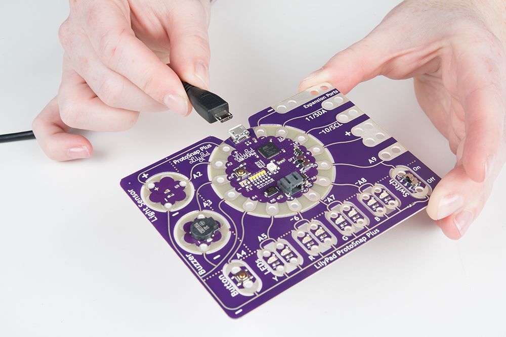 LilyPad ProtoSnap Plus Activity Guide - learn sparkfun com