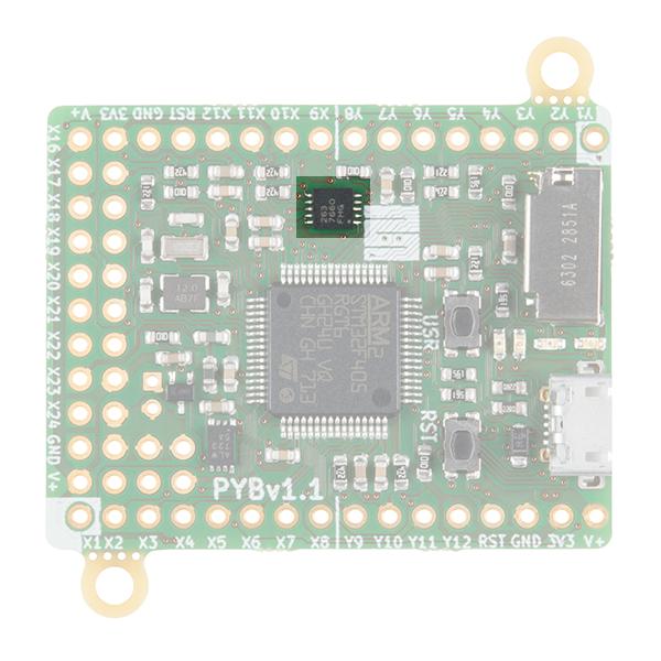 pyboard accelerometer