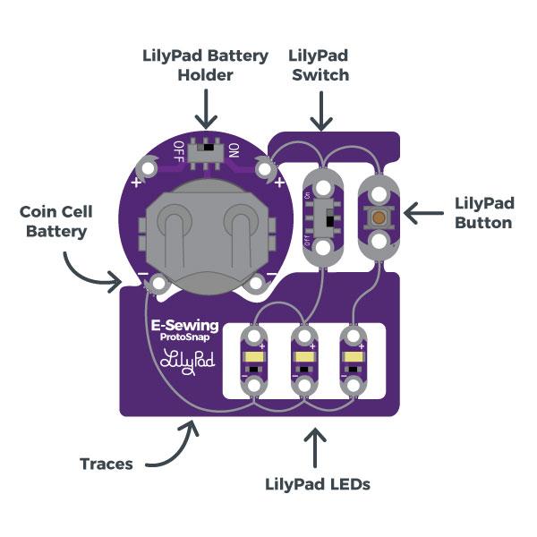 LilyPad ProtoSnap