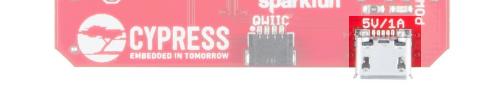 MicroB USB Power Connector