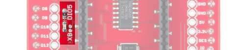 XBee DIO5 LED
