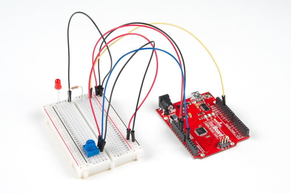 Tinker Kit Circuit 2 Potentiometer
