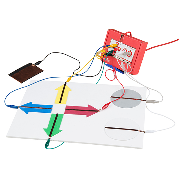 Makey Makey Controller with Copper Tape
