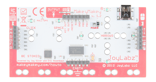 Makey Makey USB Connector and Power LED