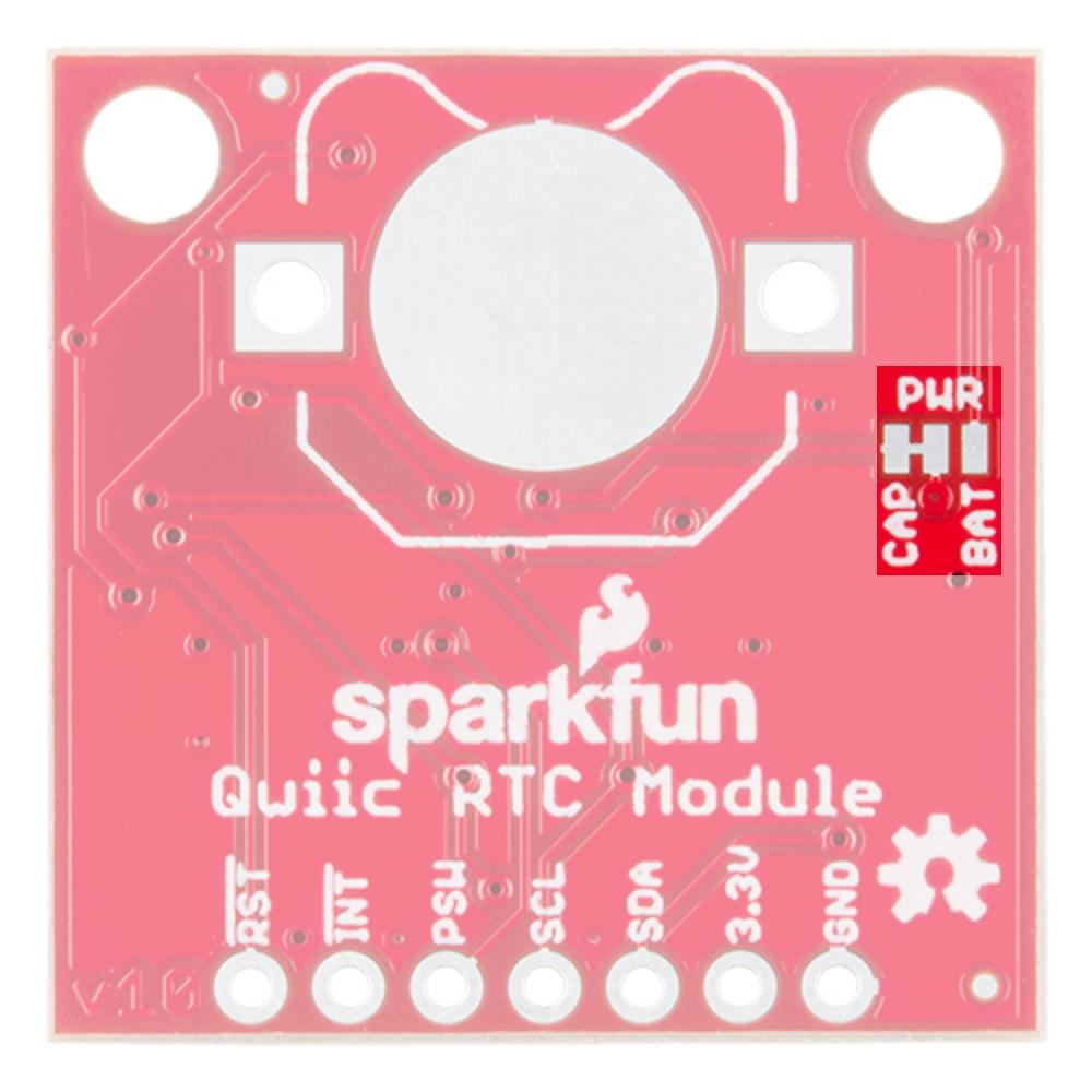 Qwiic Real Time Clock Module (RV-1805) Hookup Guide - learn sparkfun com