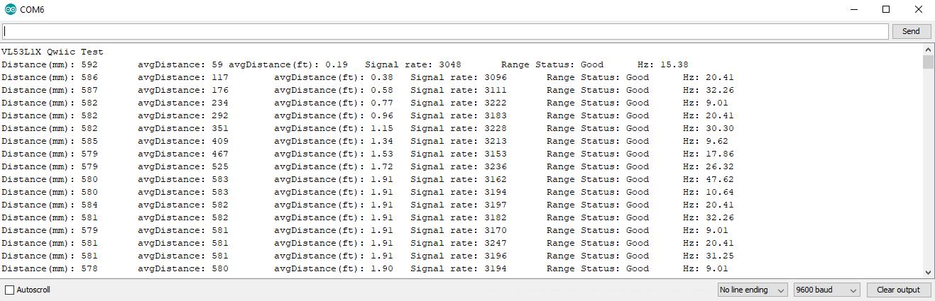 Qwiic Distance Sensor (VL53L1X) Hookup Guide - learn