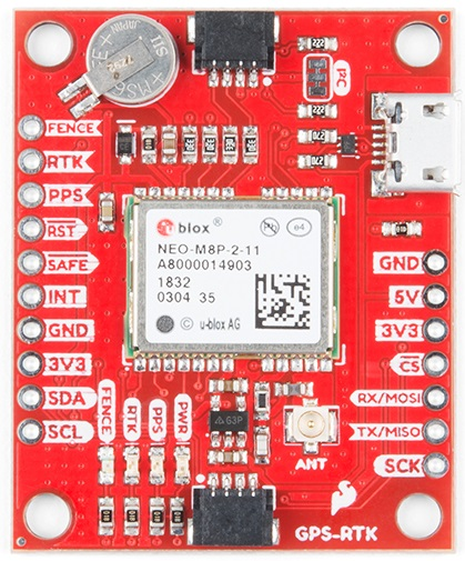 SparkFun GPS RTK Evaluation Board
