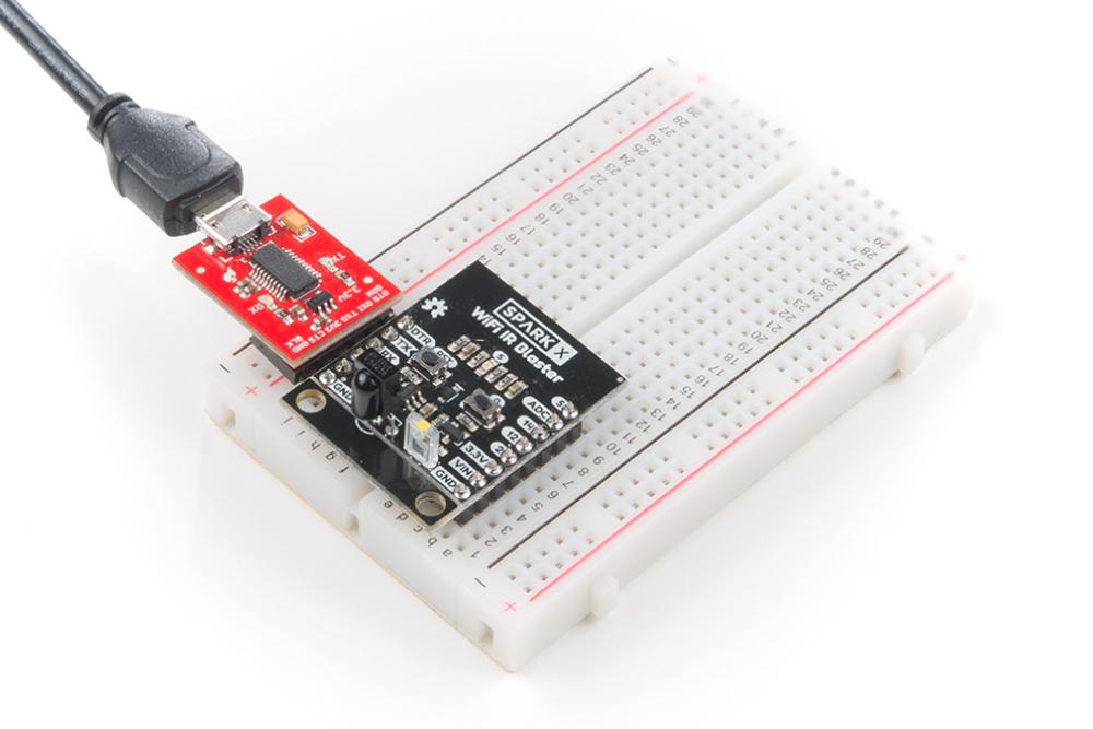 WiFi IR Blaster Hookup Guide - learn sparkfun com