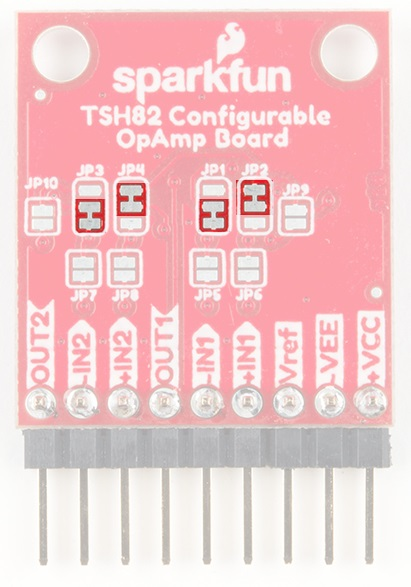 TSH82 Configurable OpAmp Hookup Guide - learn sparkfun com