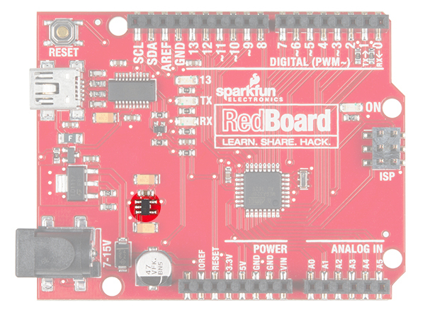 Insufficient 3.3V Regulator on the RedBoard for the Qwiic enabled TFMini
