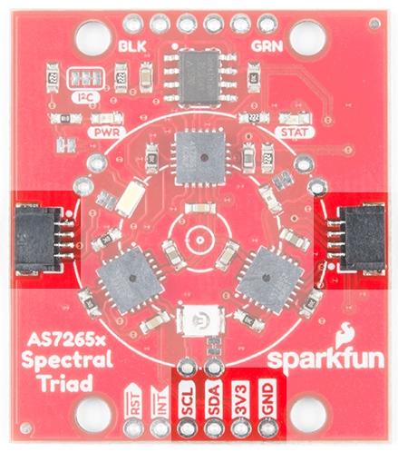 Qwiic connectors and I2C jumper
