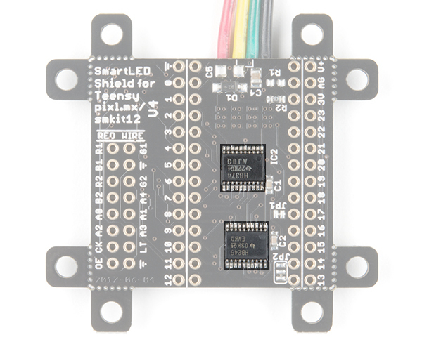 Level Shifting Buffers Highlighted on the SmartLED Shield for Teensy
