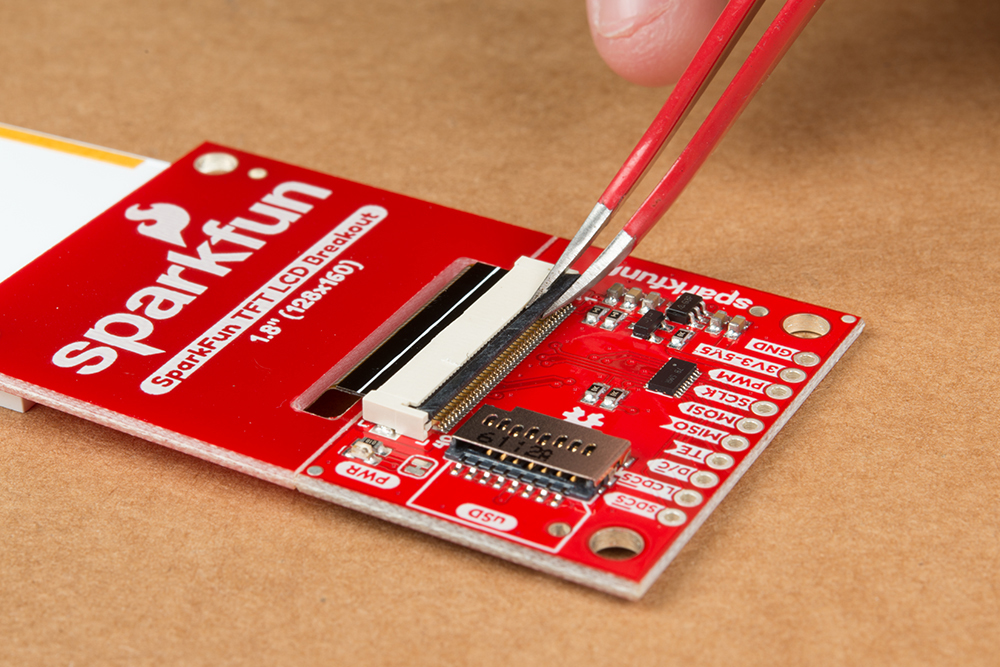 TFT LCD Breakout 1 8in 128x160 Hookup Guide - learn sparkfun com