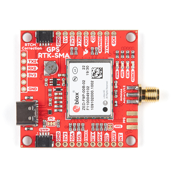 SparkFun GPS-RTK-SMA Board
