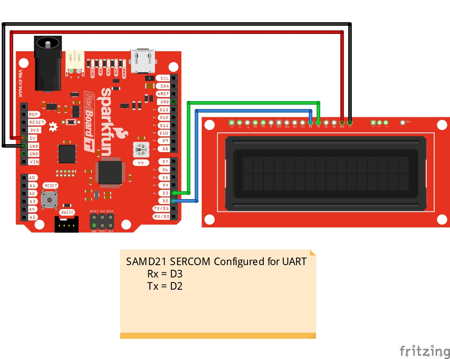Adding More SERCOM Ports for SAMD Boards - learn sparkfun com