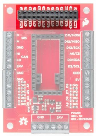 5V logic pin highlight