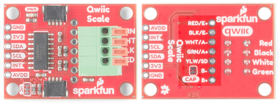 Qwiic Scale Hookup Guide - learn sparkfun com