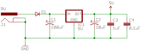 Schematic Power Supply