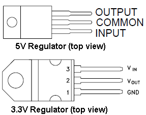 Voltage Regulator Annotated