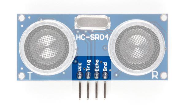 distance sensor pinout