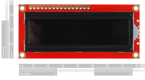 LCD w/ Red PCB