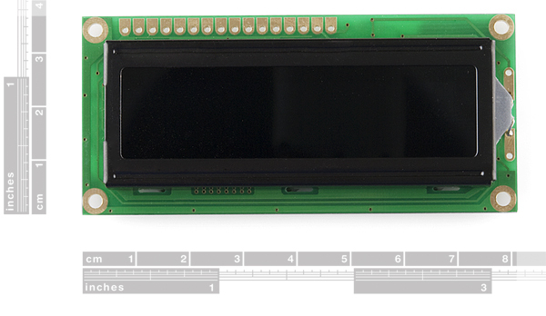 LCD w/ Green PCB