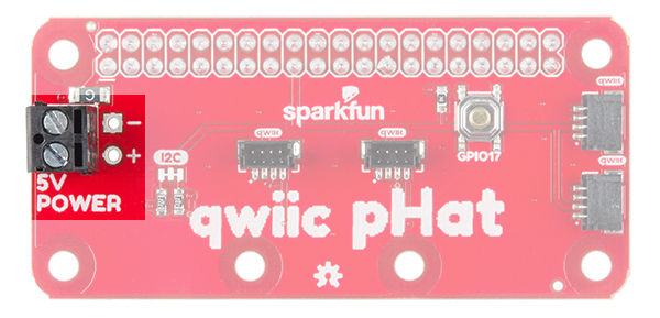 5V Pins and Screw Terminal