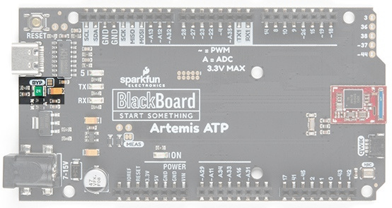 The bypass jumper on BlackBoard Artemis ATP