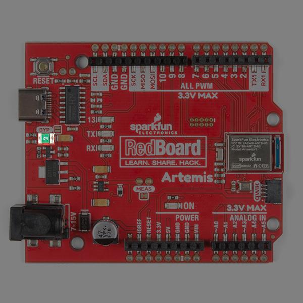 PTC Fuse on RedBoard Artemis