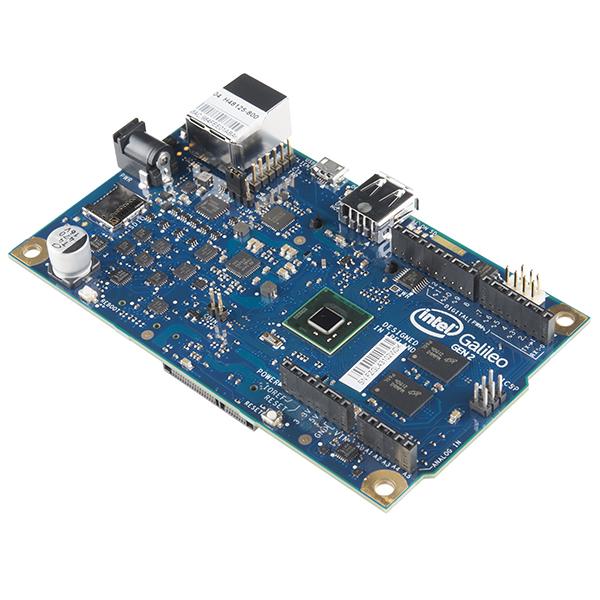 Intel galileo gen dev sparkfun electronics