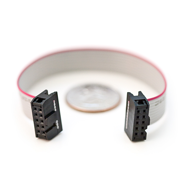 2x5 Pin Idc Ribbon Cable Prt 08535 Sparkfun Electronics