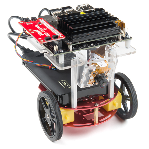 Completed SparkFun Jetbot