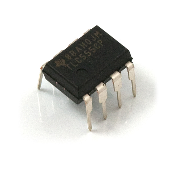 Pcb With 555 Timer Circuit Components