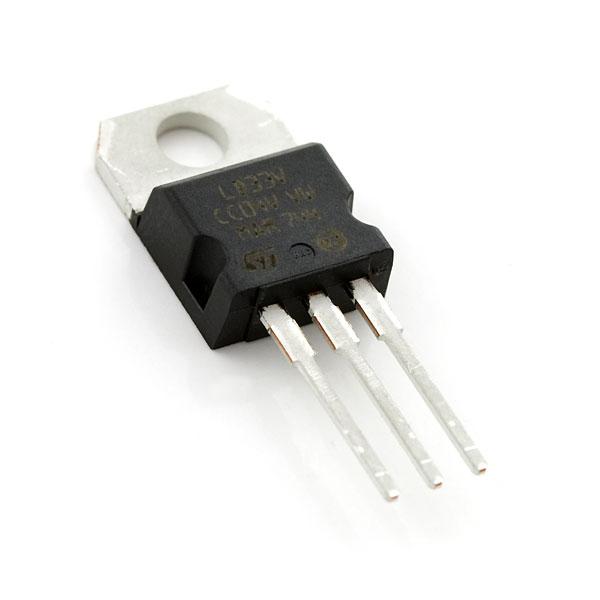 Voltage Regulator 3 3v Com 00526 Sparkfun Electronics