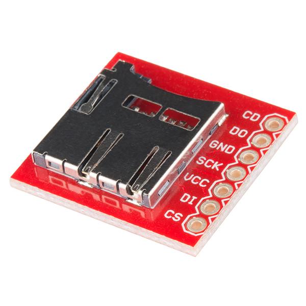 Sparkfun Microsd Transflash Breakout Bob 00544