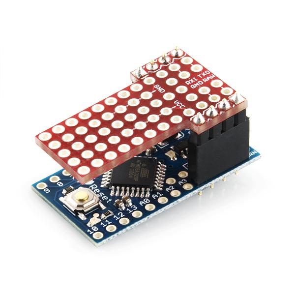 Protoshield for arduino pro mini dev sparkfun