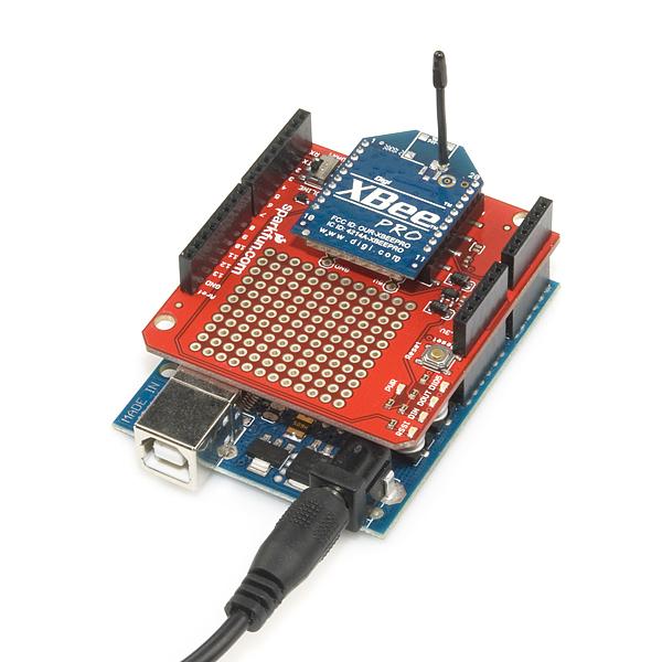 Xbee shield wrl sparkfun electronics